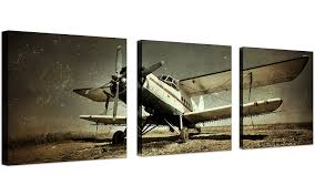 airplane wall art amazon