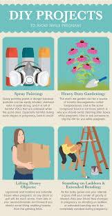 diy projects to avoid while pregnant
