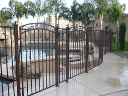 wrought iron fence gate. Simple Gate Endearing Wrought Iron Fence Gate 39 With T