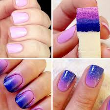 Aliexpress.com : Buy 8 pieces/lot Nail Art Painting Sponge Nails ...