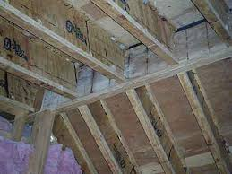 Construction Concerns I Joists Used As Rafters Fire