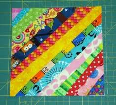 Best 25+ String quilts ideas on Pinterest | Scrap quilt patterns ... & Sew we quilt: String it.string quilt block tutorial I am SOOOO doing this  with the scraps from the quilt I made Sara K! Adamdwight.com