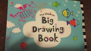 the usborne big drawing book for little kids who love to draw