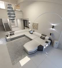 Modern U Shaped Sofa Design Home Inspiration