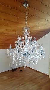 14 Armiger Kristall Kronleuchter In 82544 Bullreuth For