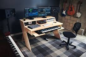 Recording Studio Desk Ikea Output Launch Platform A Studio Desk For  Musicians With Music Pertaining To