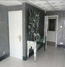Sparkly Bedroom Wallpaper Use Micheals Glitter Wrapping Paper Instead Of Actual Glitter
