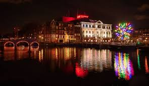 Van Gogh Museum Amsterdam Light Show The Land Of Light Amsterdam Light Festival Dutchreview