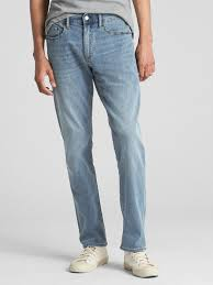 Wear Light Denim Gap Wearlight Slim Jeans With Gapflex