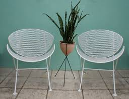 Mid Century Salterini Patio Chair Set Eames  Must Have  Pinterest