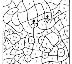 Number Coloring Pages Preschool Trustbanksurinamecom