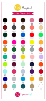 Oracal Vinyl Color Chart Pdf Color Charts