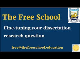 PhD thesis   fine tuning your research question   YouTube YouTube