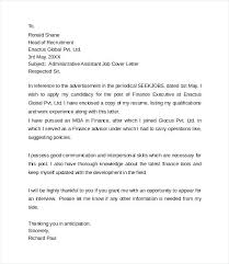 Cover Letter Email Sample Template Cool Cover Letter Administrative Assistant Email Lezincdc