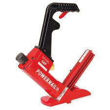 powernail pneumatic 18 gauge hardwood flooring cleat nailer