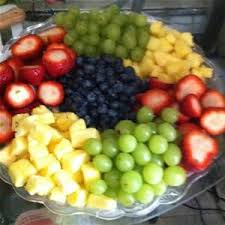 Decorative Fruit Trays Fresh Fruit Platter Cake Ideas and Designs Lets do brunch 40