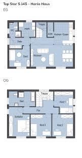 Grundrisse Stadtvilla Modern Mit Pultdach Architektur 6 Zimmer