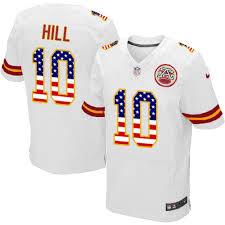 Kansas Flag Hill 10 Men's Tyreek Fashion - Road Football Elite Jersey White Chiefs City 1020405 Usa