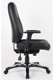 office chair side. Unique Office Barcelona Deluxe Leather Office Chair Throughout Side A