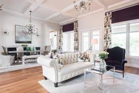 French country family room Interior White Traditional Living Room With Purple Shades Cncredrlouclub Family Home Has New Frenchcountry Style Duckworth Interiors Hgtv