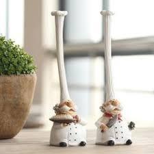<b>ElimElim Set</b> of <b>2</b>, High quality chef kitchen decor resin model kit ...