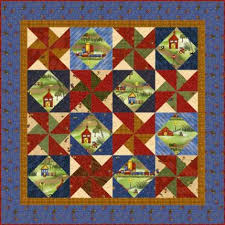 Panel Quilt Patterns Magnificent Panel Quilt Projects AllPeopleQuilt
