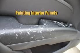 interior design creative car interior plastic paint small home