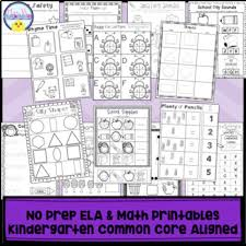 Math, maths, for kids, children, math activities for children,math for kids,kindergarten math,elementary math, first grade math, math. No Prep Phonics And Math Worksheets For Kindergarten By Mrs V S Chickadees