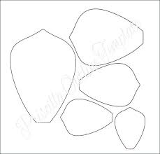 Paper Flower Templates Free Download How To Make Giant Paper Roses Plus A Free Petal Template Download