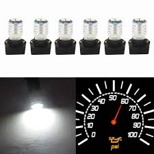 Interior Dash Lights Us 9 91 38 Off Wljh T10 Led Interior Lights Car Gauge Dashboard Dash Light Instrument Cluster Panel W5w 194 Bulb Twist Socket Pc195 Pc194 Pc168 In