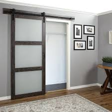 continental frosted glass 1 panel ironage laminate interior barn glass barn door glass barn doors menards glass barn doors