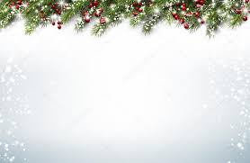 Christmas Background Christmas Background With Fir Branches Stock Vector