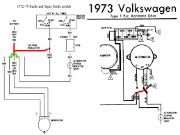 vw beetle alternator wiring diagram vw beetle 1973 vw beetle alternator wiring diagram 1974 vw alternator wiring diagram annavernon