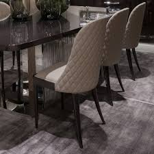 high end dining furniture. High End Designer Italian Quilted Leather Walnut Dining Modern Chairs Furniture A