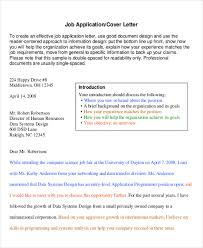 example of a professional cover letters 6 sample professional cover letter free sample example format