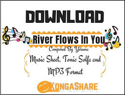 Preview river flows in you by yiruma with note names in easy to read format is available in 1 pages and compose for beginning difficulty. Download River Flows In You Sheet Music For Piano In