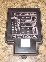 95 honda civic fuse diagram 95 image wiring diagram 92 95 oem usdm honda civic sr3 eg eg6 eg9 ej1 engine bay fuse box on
