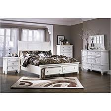 Amazoncom Ashley B672 Prentice King Storage 4 Pc Bedroom Set In