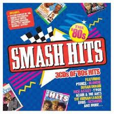 Various Pop Smash Hits The 80s Uk 3 Cd Album Set Triple