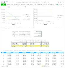 Amortization Schedule In Excel Delectable Capital Lease Amortization Schedule Excel Template Gocreatorco