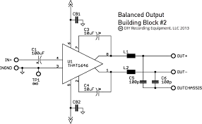balanced input output assembly guide diyre balanced output schematic