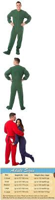 Big Feet Pjs Size Chart 980 Best Sleepwear And Robes 166697 Images