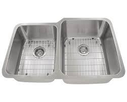 kitchen 513r offset double bowl stainlessel kitchen sink kraus gauge best sinks drop in 87