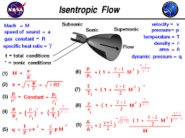 Isentropic Flow Equations