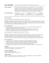 Sample Resume For Accountant Fresher Accountant Resume Format Resume