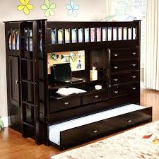 kids bunk bed with storage. Kids Bed With Desk Loft Trundle And Storage Ideas Small Room . Bunk