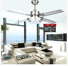 stainless steel ceiling fans inch stainless steel ceiling fan led lamp 4 leaves modern ceiling fan