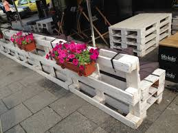 pallets as furniture. Pallet Benches In Poland Pallets As Furniture Y