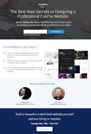 How To Design A Page Landing Page For The Best Kept Secrets To Designing A
