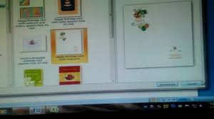 How To Make A Birthday Party Invite With Microsoft Word Youtube